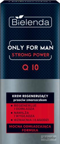 Bielenda - Only for Men - Strong Power - Q 10 - Regenerating anti-wrinkle face cream for men - 50 ml