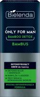 Bielenda - Only for Man - Bamboo Detox - Bambus - Detoksykujący krem do twarzy dla mężczyzn - 50 ml