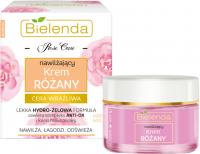 Bielenda - Rose Care - Moisturizing Rose Cream - Moisturizing rose cream for sensitive skin - Day / Night - 50 ml