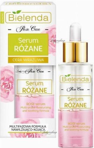 Bielenda - Rose Care - Multi-Phase Rose Serum - Rose serum for sensitive skin - 30 ml