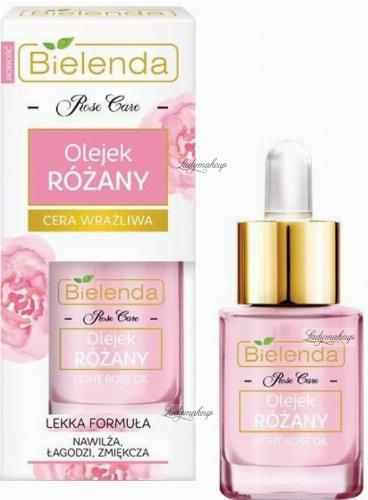 Bielenda - Rose Care - Light Rose Oil - Olejek różany - Cera wrażliwa - 15 ml