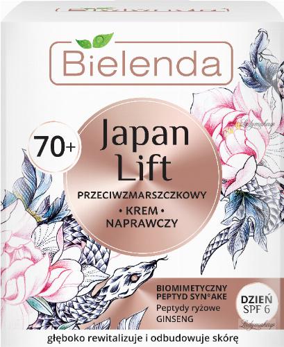 Bielenda - Japan Lift - Anti-wrinkle face repair cream - Day - SPF 6 - 70+