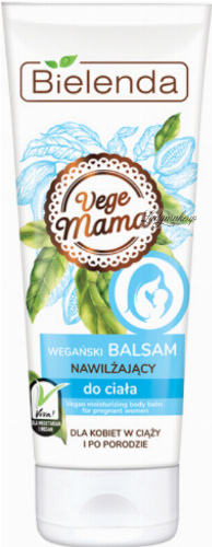 Bielenda - Vege Mama - Vegan moisturizing body lotion - For pregnant and postpartum women - 200 ml