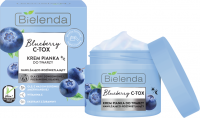 Bielenda - BLUEBERRY C-TOX - FACE CREAM FOAM - Moisturizing and brightening face cream / foam - 40 g