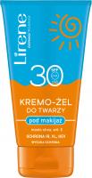 Lirene - Face cream gel for makeup - SPF30 - 50 ml