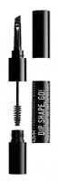 NYX Professional Makeup - DIP, SHAPE, GO! LONGWEAR BROW POMADE - Eyebrow pomade with applicators