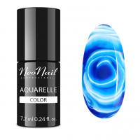 NeoNail - Aquarelle Color - Hybrid Varnish - 6 ml - 5511-7 - Navy Aquarelle - 5511-7 - Navy Aquarelle