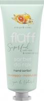FLUFF - Superfood - Hand Sorbet - Nawilżający sorbet do rąk - Pomarańcza i wanilia - 50 ml
