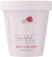 FLUFF - Body Yoghurt - Body yogurt - Raspberries and almonds - 180 ml
