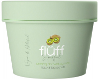 FLUFF - Superfood - Face & Lips Scrub - Peeling do twarzy i ust - Exotic kiwi