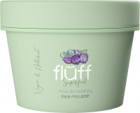 FLUFF - Superfood - Facial Cleansing Mousse - Mus do mycia twarzy - Jagody leśne - 50 ml