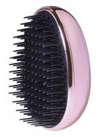 Inter-Vion - UNTANGLE BRUSH - Glossy Metallic - Kompaktowa szczotka do włosów - MIEDZIANA