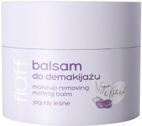 FLUFF - Makeup Removing Melting Balm - Balsam do demakijażu - Jagody leśne - 50 ml