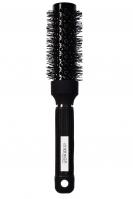 Inter-Vion - Ceramic Hair Modeling Brush - Ceramiczna szczotka do stylizacji włosów do ramion 35 mm - Black Label