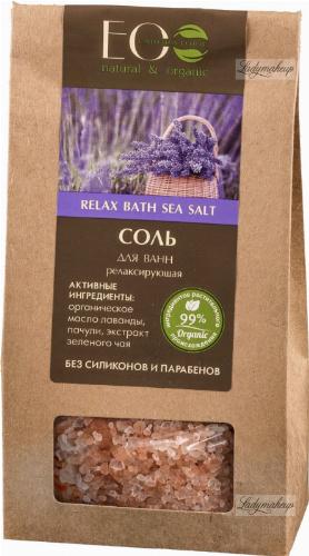 ECO Laboratorie - Relaxing Bath Sea Salt - Relaksująca sól do kąpieli - 400 g