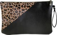 Inter-Vion - Envelope cosmetic bag size XL - Leopard - 415519