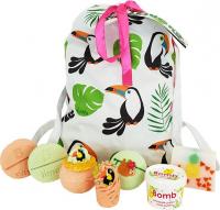 Bomb Cosmetics - Wash Bag Gift Pack - Zestaw upominkowy kosmetyków do kąpieli i pielęgnacji - Toucan Play At That Game