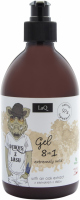 LaQ - EXTREMELY WILD GEL WITH AN OAK EXTRACT 8 IN 1 - Extremely wild gel for men with oak extract 8 in 1 - 500 ml