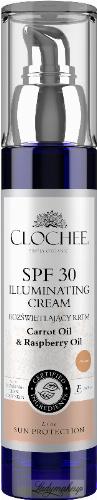 CLOCHEE - SPF 30 ILLUMINATING CREAM - Rozświetlający krem do twarzy (naturalny) - SPF 30 - 50 ml