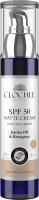 CLOCHEE - SPF 50 MATTE CREAM - Mattifying face cream (natural) - SPF 50 - 50 ml