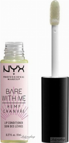 NYX Professional Makeup - BARE WITH ME - HEMP CHANVRE LIP CONDITIONER - Lip balm with hemp - 01 Sheer Leaf