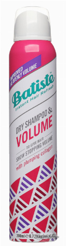 Batiste - Dry Shampoo & Volume - Dry shampoo for increasing the volume of hair with collagen - 200 ml