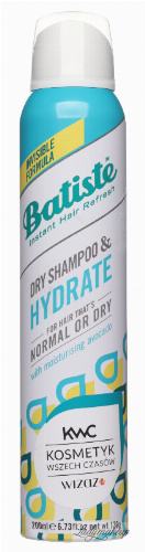 Batiste - Dry Shampoo & Hydrate - Dry shampoo for normal and dry hair - 200 ml