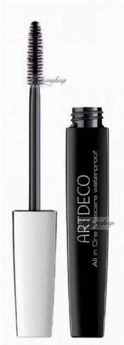 ARTDECO - All in One Mascara Waterproof - Wodoodporny tusz wydłużająco-pogrubiający