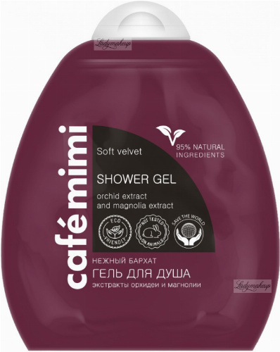 Cafe MImi - SHOWER GEL - Shower gel - VELVET SKIN - 250 ml
