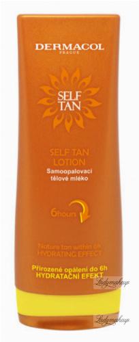 Dermacol - SELF TAN LOTION - Nawilżające samoopalające mleczko do ciała - Czekolada & Pomarańcze - 200 ml