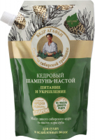 Agafia - Receptury Babuszki Agafii - Cedrowy szampon do włosów - Odżywienie & Wzmocnienie - Uzupełnienie - 500 ml
