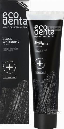 ECODENTA - Black Whitening Toothpaste - Wybielająca, czarna pasta do zębów z węglem (naturalna) - 100 g