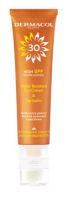 Dermacol - Water Resistant Sun Cream & Lip Balm - Waterproof face tanning cream with lip balm - SPF 30 - 30 ml