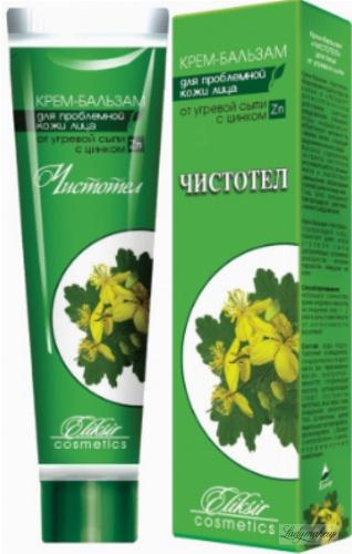 Eliksir - Krem z glistnikiem do cery tłustej i trądzikowej - 40 ml