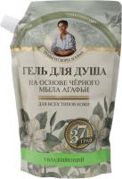 Agafia - Receptury Babuszki Agafii - Żel pod prysznic na bazie czarnego mydła - Uzupełnienie - 500 ml