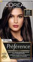 L'Oréal - Préférence - Permanent Haircolor 3.0 - BRASILIA - DARK BROWN - Farba do włosów - Trwała koloryzacja - Ciemny Brąz