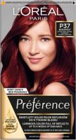 L'Oréal - Préférence - Permanent Haircolor P37 - BUDAPEST - INTENSE DARK RED - Farba do włosów - Trwała koloryzacja - Intensywna Ciemna Czerwień