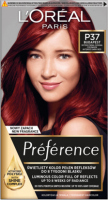 L'Oréal - Préférence - Permanent Haircolor P37 - BUDAPEST - INTENSE DARK RED - Hair dye - Permanent coloring - Intense Dark Red