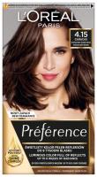 L'Oréal - Préférence - Permanent Haircolor 4.15 - CARACAS - INTENSE DEEP BROWN - Farba do włosów - Trwała koloryzacja - Intensywny Głęboki Brąz