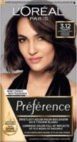 L'Oréal - Préférence - Permanent Haircolor 3.12 - TORONTO - INTENSE COOL DARK BROWN - Farba do włosów - Trwała koloryzacja - Intensywny Chłodny Ciemny Brąz
