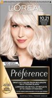 L'Oréal - Préférence - Permanent Haircolor 10.21 - STOCKHOLM - VERY VERY LIGHT PEARL BLONDE - Farba do włosów - Trwała koloryzacja - Bardzo Bardzo Jasny Perłowy Blond
