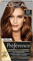 L'Oréal - Préférence - Permanent Haircolor 5.3 - VIRGINIA - LIGHT GOLDEN BROWN - Farba do włosów - Trwała koloryzacja - Jasny Złocisty Brąz