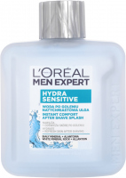 L'Oréal - MEN EXPERT - HYDRA SENSITIVE - INSTANT COMFORT AFTER SHAVE SPLASH - Woda po goleniu natychmiastowa ulga - 100 ml