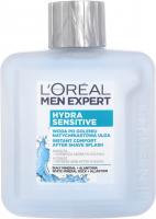 L'Oréal - MEN EXPERT - HYDRA SENSITIVE - INSTANT COMFORT AFTER SHAVE SPLASH - Instant relief after shave - 100 ml