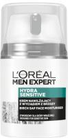 L'Oréal - MEN EXPERT - HYDRA SENSITIVE - Birch Sap Face Moisturiser - Moisturizing face cream with birch extract for men - 50 ml