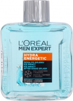 L'Oréal - MEN EXPERT - HYDRA ENERGETIC ICE IMPACT AFTER SHAVE SPLASH - ICE IMPACT Aftershave - 100 ml
