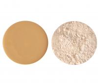 Kryolan - Dermacolor - Twin Set - Podkład + puder fixujący - 79089-D 3 P 11 - D 3 P 11