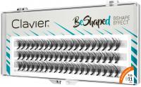 Clavier - BeShaped - Sztuczne rzęsy w kępkach typu B - 11 mm - 11 mm