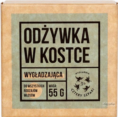 Mydlarnia Cztery Szpaki - Wygładzająca odżywka do włosów w kostce - 55 g