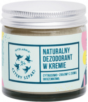 Mydlarnia Cztery Szpaki - Natural deodorant in cream - Citrus-herbal - 60 ml